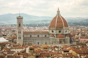 Duomo de Florença visto de cima.