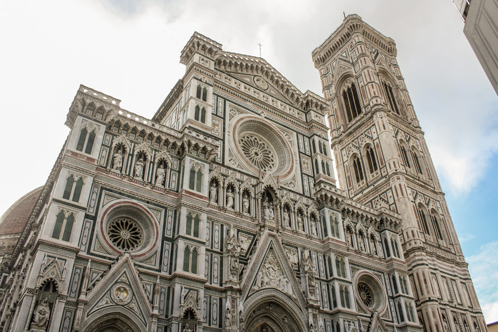 Fachada do Duomo de Florença.