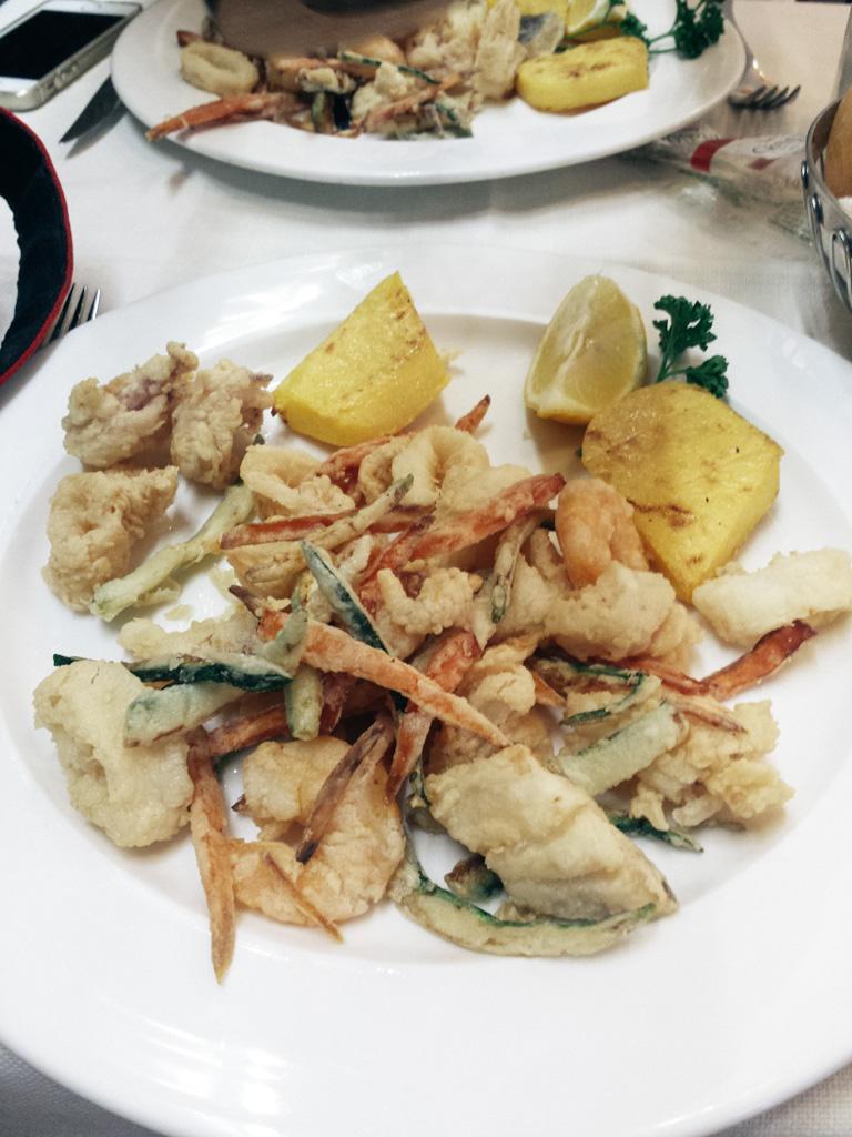 Almoço em Veneza.