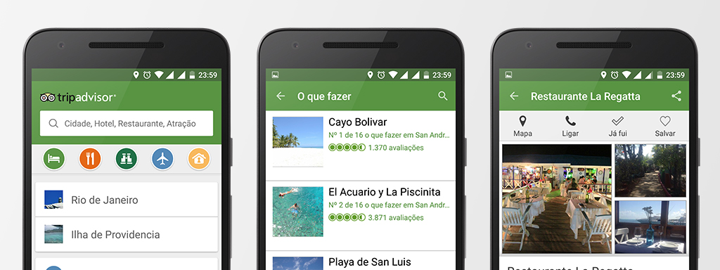 Screenshot App TripAdvisor