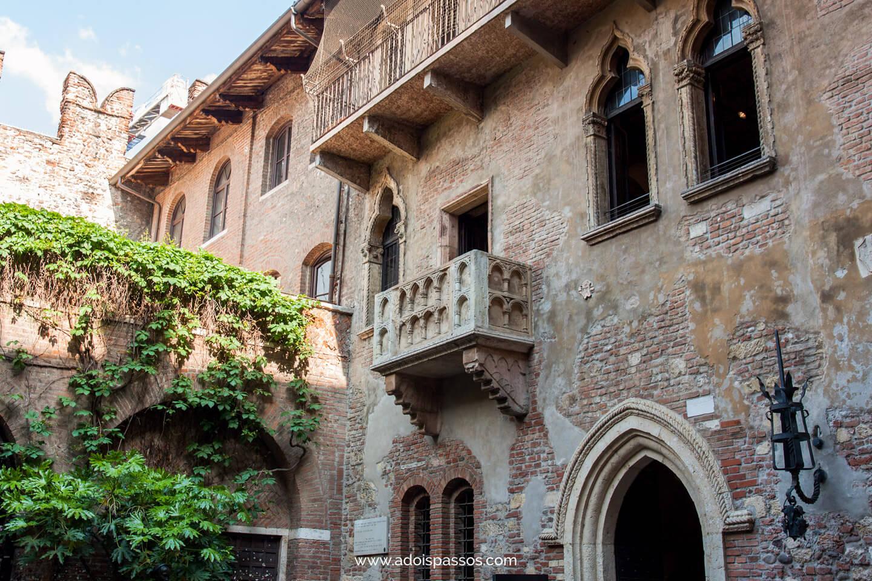 Sacada da casa de Julieta.