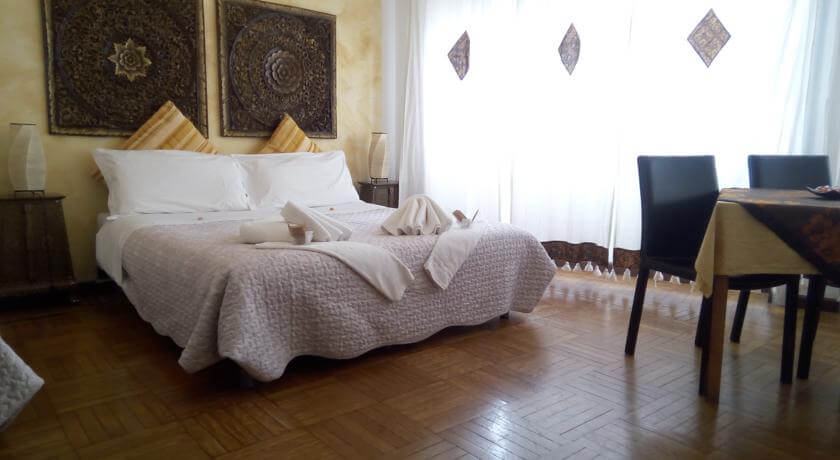 Foto de quarto do B&B Cittadella