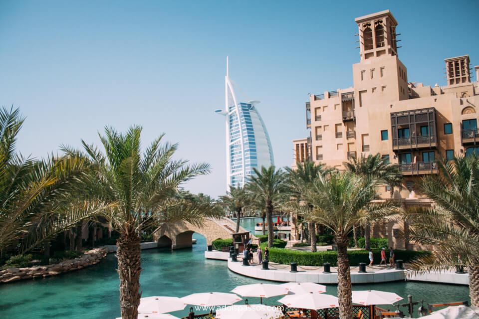 Dubai - Souk Madinat Jumeirah - Burj Al Arab