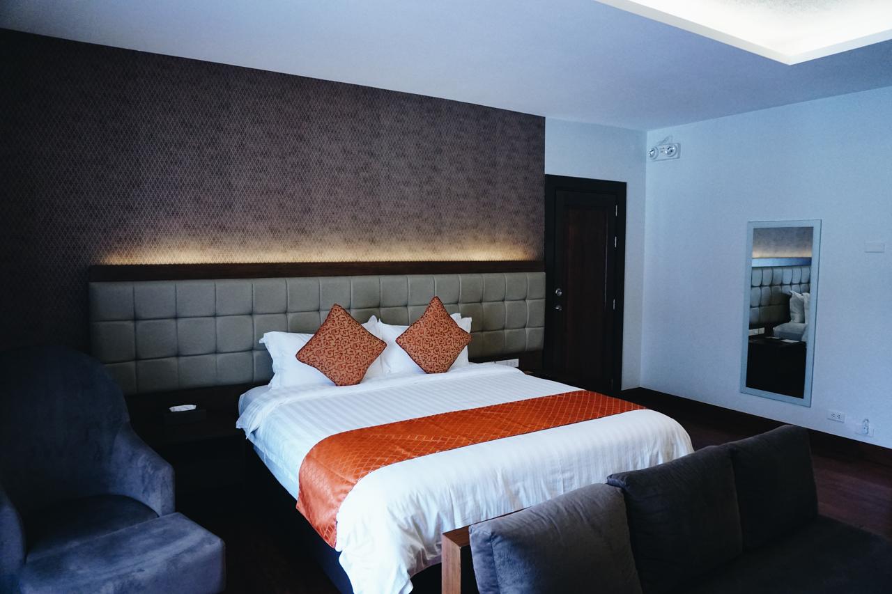 Quarto do hotel Coron Soleil Garden